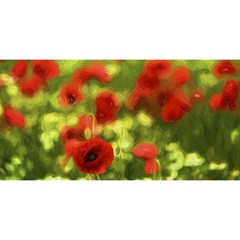Poppy Vi You Are Invited 3d Greeting Card (8x4)  by colorfulartwork
