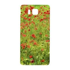 Poppy Vii Samsung Galaxy Alpha Hardshell Back Case by colorfulartwork