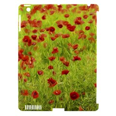 Poppy Viii Apple Ipad 3/4 Hardshell Case (compatible With Smart Cover) by colorfulartwork