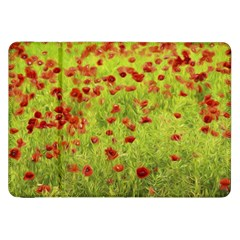 Poppy Viii Samsung Galaxy Tab 8 9  P7300 Flip Case by colorfulartwork