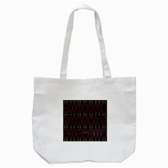 Blax In Color Tote Bag (white) by MRTACPANS