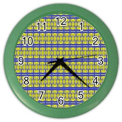 No Vaccine Color Wall Clocks by MRTACPANS