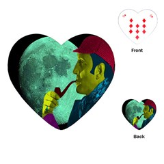Sherlock Holmes Playing Cards (heart)  by icarusismartdesigns