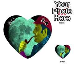 Sherlock Holmes Playing Cards 54 (heart)  by icarusismartdesigns
