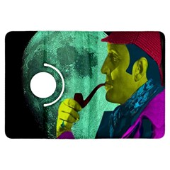 Sherlock Holmes Kindle Fire HDX Flip 360 Case by icarusismartdesigns