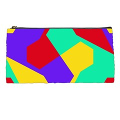 Colorful Misc Shapes                                                  pencil Case by LalyLauraFLM
