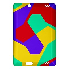 Colorful Misc Shapes                                                  			kindle Fire Hd (2013) Hardshell Case by LalyLauraFLM