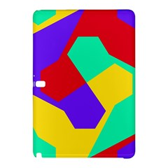 Colorful Misc Shapes                                                  			samsung Galaxy Tab Pro 12 2 Hardshell Case by LalyLauraFLM