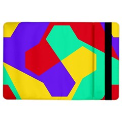 Colorful Misc Shapes                                                  			apple Ipad Air 2 Flip Case by LalyLauraFLM
