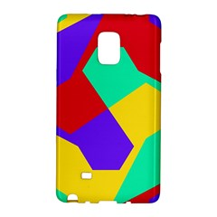 Colorful Misc Shapes                                                  			samsung Galaxy Note Edge Hardshell Case