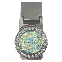 Fading Shapes Texture                                                    money Clip (cz) by LalyLauraFLM