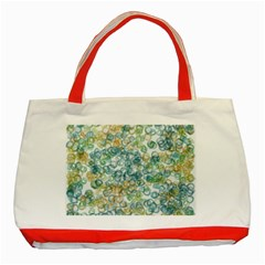 Fading Shapes Texture                                                    			classic Tote Bag (red) by LalyLauraFLM