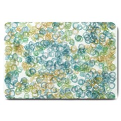 Fading Shapes Texture                                                    			large Doormat by LalyLauraFLM