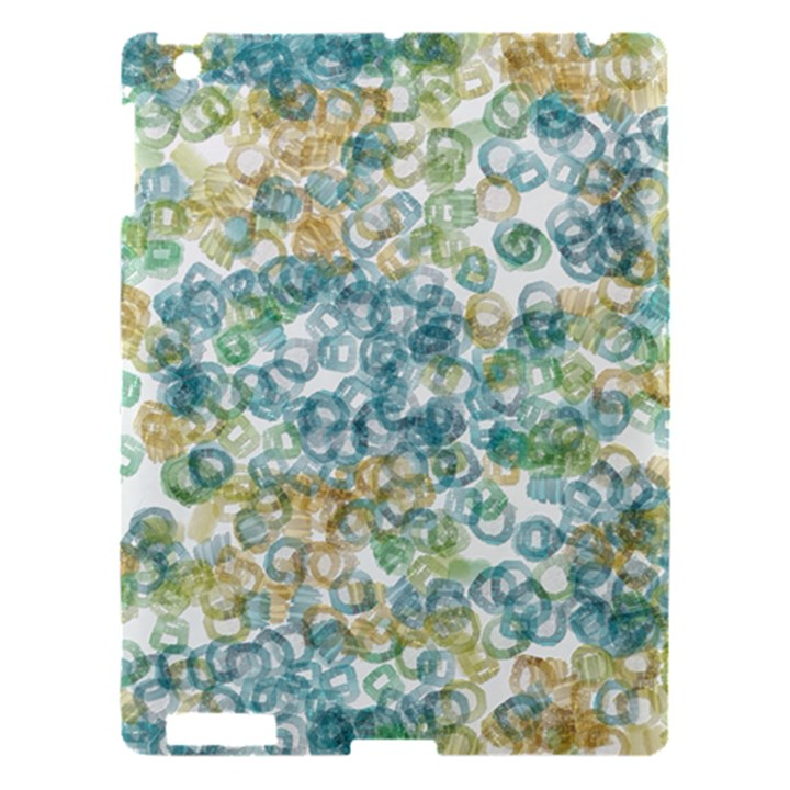 Fading shapes texture                                                    			Apple iPad 3/4 Hardshell Case