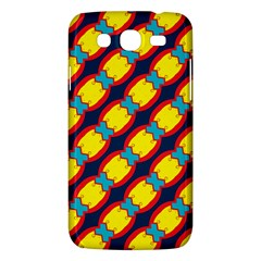 Blue X Chains                                                     			samsung Galaxy Mega 5 8 I9152 Hardshell Case by LalyLauraFLM