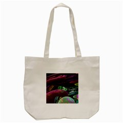 Creation Of The Rainbow Galaxy, Abstract Tote Bag (cream) by DianeClancy
