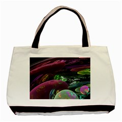 Creation Of The Rainbow Galaxy, Abstract Basic Tote Bag by DianeClancy