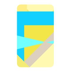 Blue Yellow Shapes                                                        			memory Card Reader (rectangular) by LalyLauraFLM