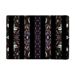 Oriental Floral Stripes Apple Ipad Mini Flip Case by dflcprints