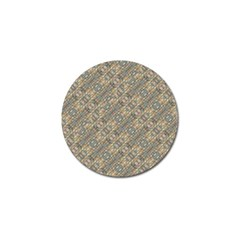 Cobblestone Geometric Texture Golf Ball Marker by dflcprints