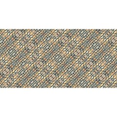 Cobblestone Geometric Texture You Are Invited 3d Greeting Card (8x4)