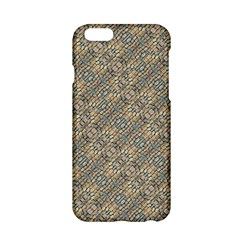 Cobblestone Geometric Texture Apple Iphone 6/6s Hardshell Case by dflcprints