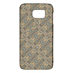 Cobblestone Geometric Texture Galaxy S6 by dflcprints
