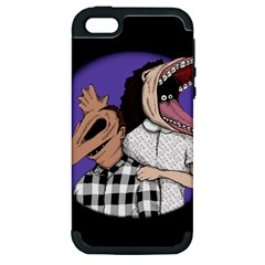 Family Portrait Of The Recently Deceased Apple Iphone 5 Hardshell Case (pc+silicone) by lvbart