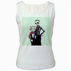 Suicide Nightmare Squad Women s White Tank Top by lvbart