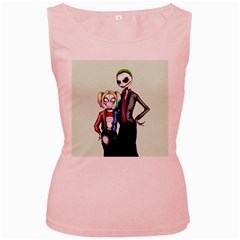 Suicide Nightmare Squad Women s Pink Tank Top by lvbart