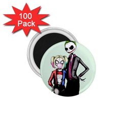 Suicide Nightmare Squad 1 75  Magnets (100 Pack)  by lvbart