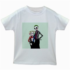 Suicide Nightmare Squad Kids White T Shirts by lvbart