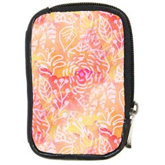 Sunny Floral Watercolor Compact Camera Cases by KirstenStar