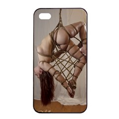 Shibari King Of Diamonds Apple Iphone 4/4s Seamless Case (black) by RumenBasheff