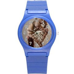 Shibari King Of Diamonds Round Plastic Sport Watch (s) by RumenBasheff