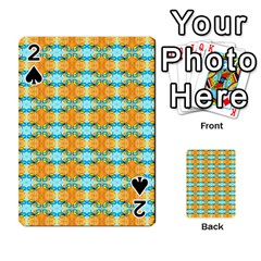 Dragonflies Summer Pattern Playing Cards 54 Designs
