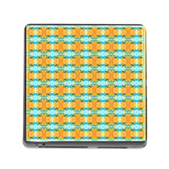 Dragonflies Summer Pattern Memory Card Reader (square)