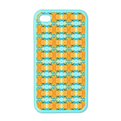 Dragonflies Summer Pattern Apple Iphone 4 Case (color) by Costasonlineshop