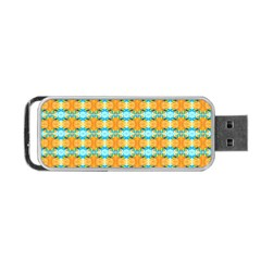 Dragonflies Summer Pattern Portable Usb Flash (two Sides) by Costasonlineshop