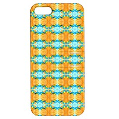 Dragonflies Summer Pattern Apple Iphone 5 Hardshell Case With Stand by Costasonlineshop