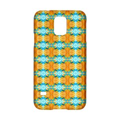 Dragonflies Summer Pattern Samsung Galaxy S5 Hardshell Case