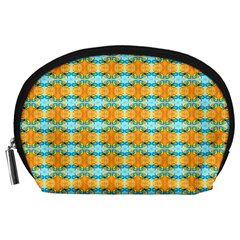 Dragonflies Summer Pattern Accessory Pouches (large)