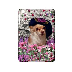 Chi Chi In Flowers, Chihuahua Puppy In Cute Hat Ipad Mini 2 Hardshell Cases by DianeClancy