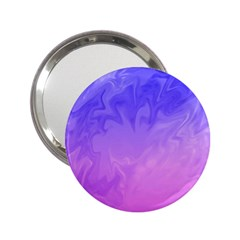 Ombre Purple Pink 2 25  Handbag Mirrors by BrightVibesDesign