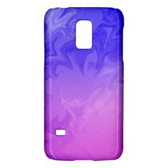 Ombre Purple Pink Galaxy S5 Mini by BrightVibesDesign