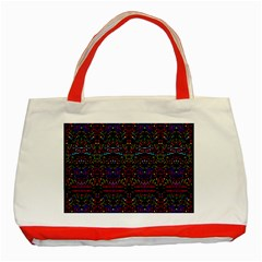 Bubble Up Classic Tote Bag (red) by MRTACPANS