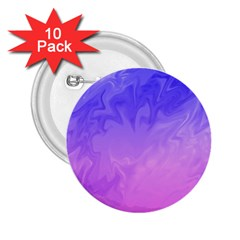 Ombre Purple Pink 2.25  Buttons (10 pack)  by BrightVibesDesign