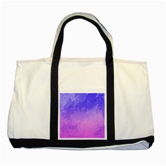 Ombre Purple Pink Two Tone Tote Bag by BrightVibesDesign