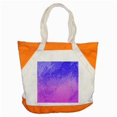 Ombre Purple Pink Accent Tote Bag by BrightVibesDesign