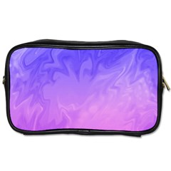 Ombre Purple Pink Toiletries Bags 2 Side by BrightVibesDesign